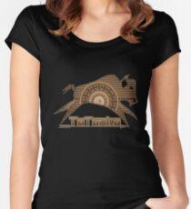 Tatanka Brown Native American Buffalo Women's Fitted Scoop T-Shirt