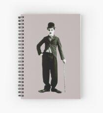 Classic Chaplin Spiral Notebook