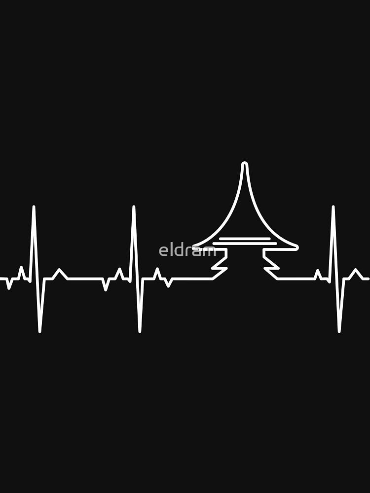 "ECG - Whisky ""Heart Peat"" by eldram"