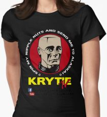 Krytie TV Womens Fitted T-Shirt