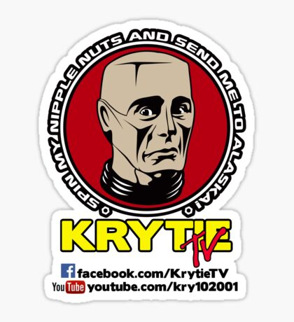 Krytie TV Sticker