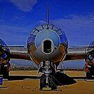 B-50 Head On by Bob Moore