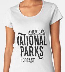 The America's National Parks Podcast Logo Gear Women's Premium T-Shirt