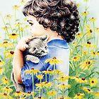 In The Garden by Margaret Harris