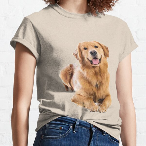 We love Golden Retriever! Classic T-Shirt