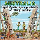 Aussie Moments - Australia Animals by iancoate