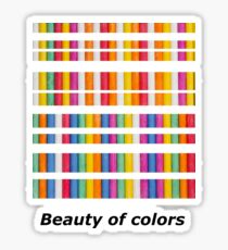Beauty of colors Sticker