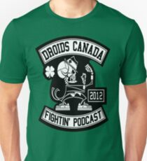 Droids Canada Fighting Podcast Slim Fit T-Shirt