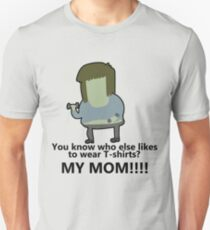 You know who else likes to wear T-shirts? - Muscle Man | Regular Show Unisex T-Shirt