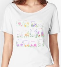 Birthday Month Flowers Women's Relaxed Fit T-Shirt