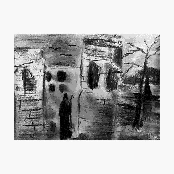 Ruin in Shadows Photographic Print