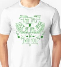 May the Luck of the Irish be With You Unisex T-Shirt