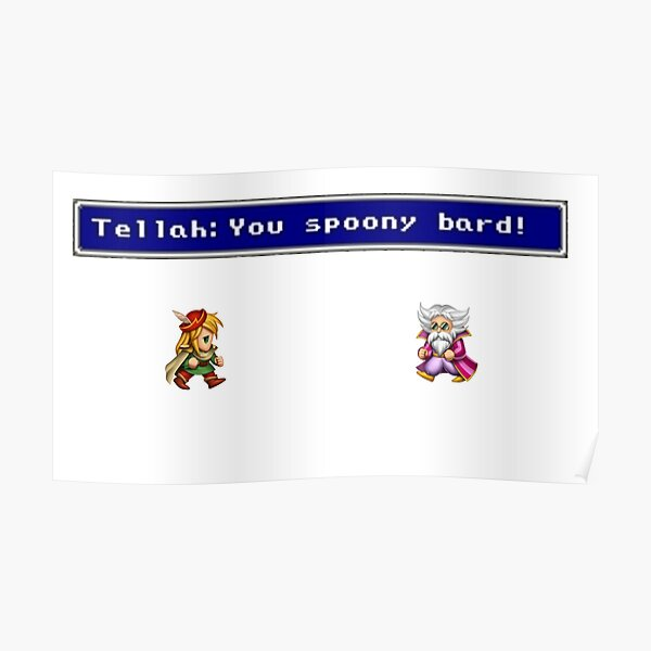 you spoony bard Poster