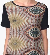 Eyes of Teeth Chiffon Top