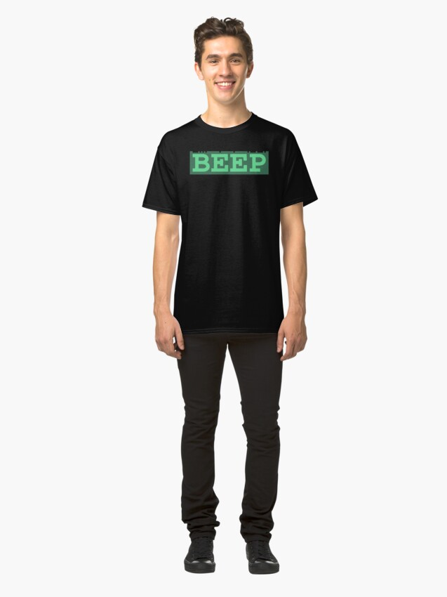 Alternate view of Beep (general logo) Classic T-Shirt