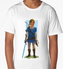 Breath Of The Wild Link Aesthetic Long T-Shirt