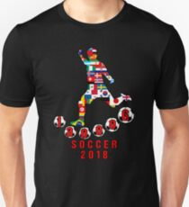 Russia 2018 World Cup - Soccer Qualified Team Unisex T-Shirt