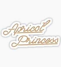 Apricot Princess Sticker