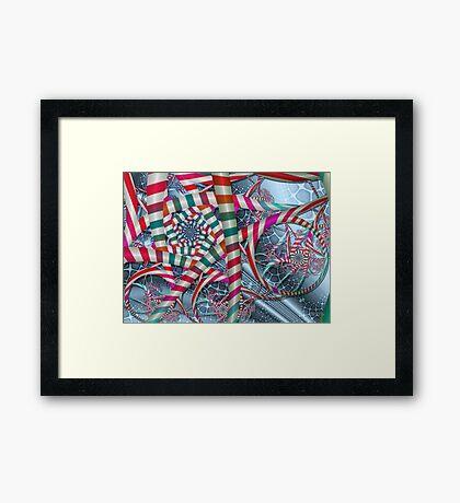 Candyland Framed Print
