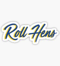 Roll Hens Delaware Sticker