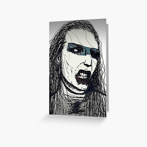 Manson Greeting Card