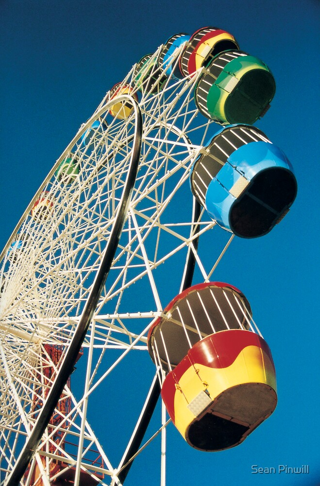 Luna Park Wheel by Sean Pinwill