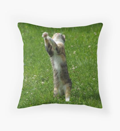 Shake it to the left, Shake it to the right... Throw Pillow