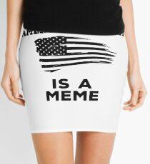 The American Dream is a Meme Mini Skirt