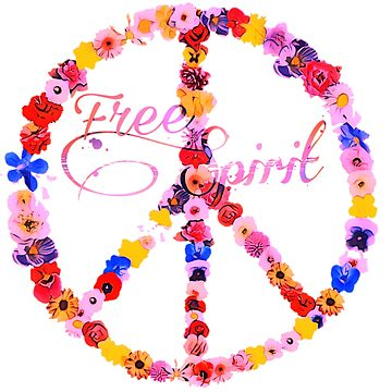 Free Spirit Peace Sign by natnat7w