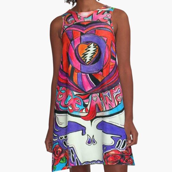 N0T FADE AWAY (~);} A-Line Dress