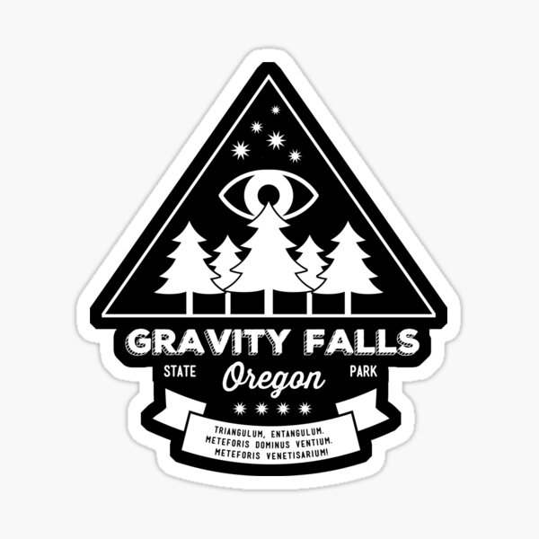 Visitez Gravity Falls, Oregon! Sticker