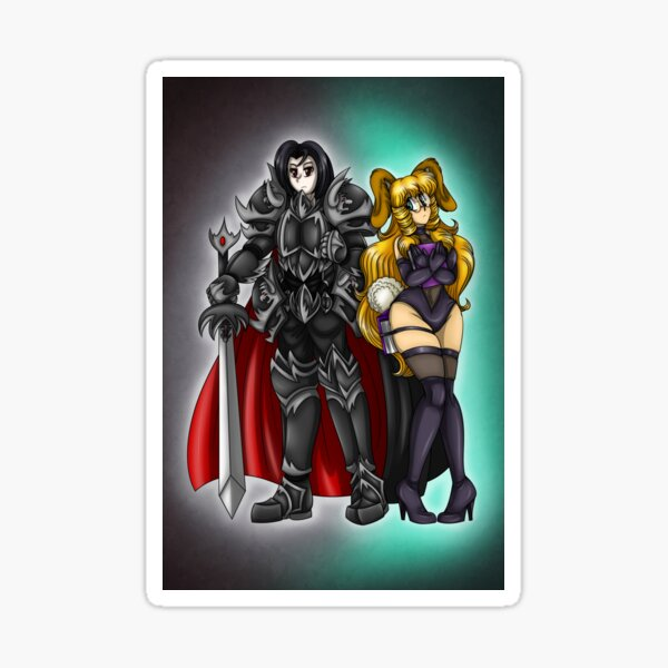 MSF High Baron and Misa Sticker