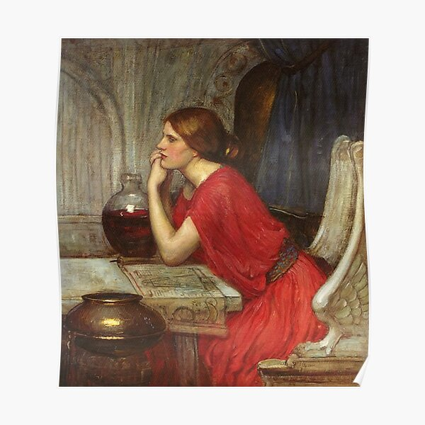 PSYCHE OPENING THE GOLDEN BOX 1903 FINE PAINTING BY J W WATERHOUSE REPRO