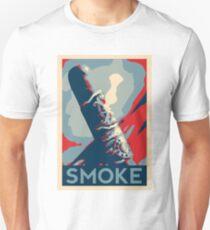 Smoke - cigar obama style poster graphic Unisex T-Shirt