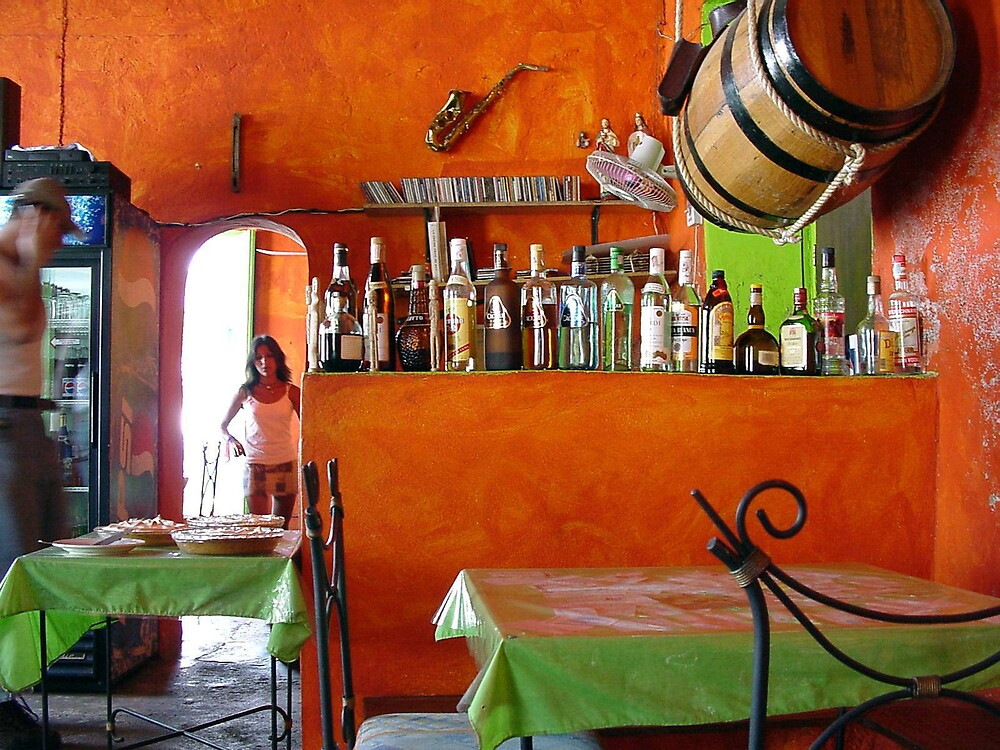 Rhum Bar in Choroni by aguakina