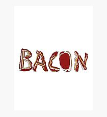 Bacon! Photographic Print