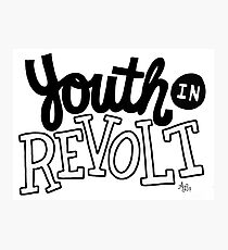 Youth In Revolt Photographic Print