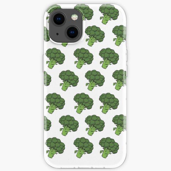 Badass Broccoli's iPhone Soft Case