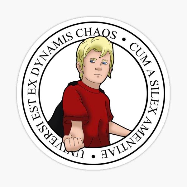 A Hymn of Valor logo Sticker