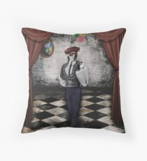 Charades Throw Pillow