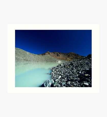 Arsine lake Art Print