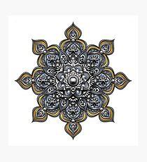 Mandala - Heraldic Photographic Print