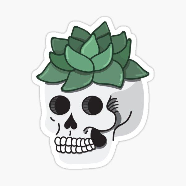 Succulent Skull  Sticker