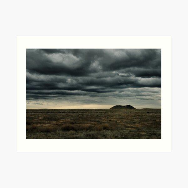 High Point of a Desert Afternoon Art Print