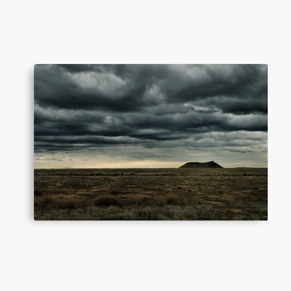 High Point of a Desert Afternoon Canvas Print