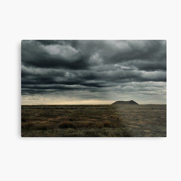 High Point of a Desert Afternoon Metal Print