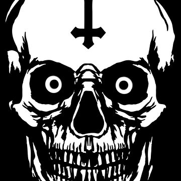 Most Ugly Satanic Skull by Weltenbrand