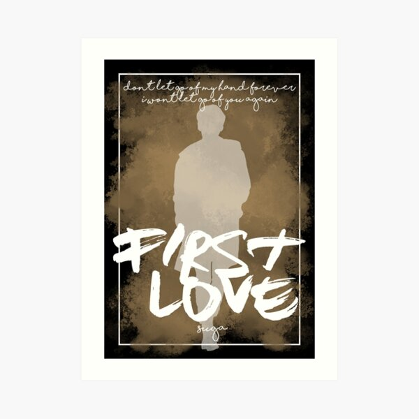 Suga First Love Art Print