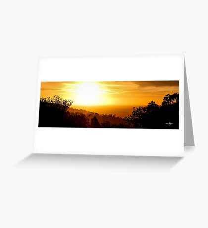 Dandalup Sunset Greeting Card