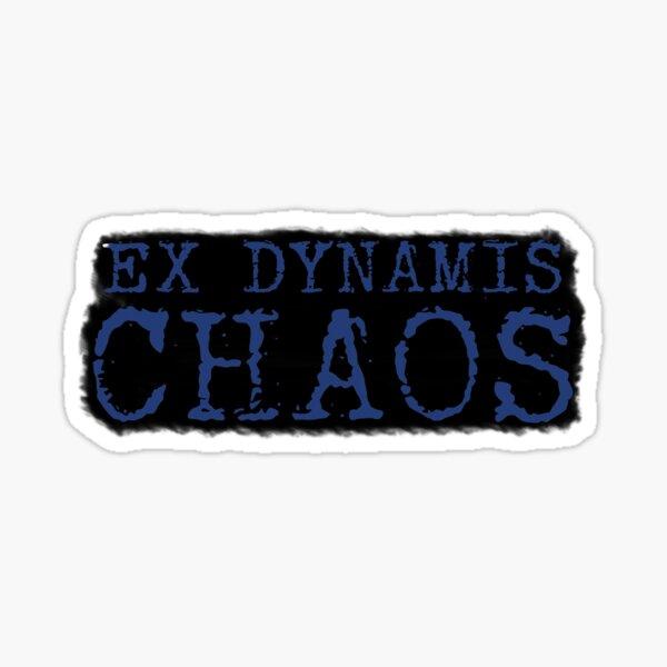Ex Dynamis Chaos title Sticker